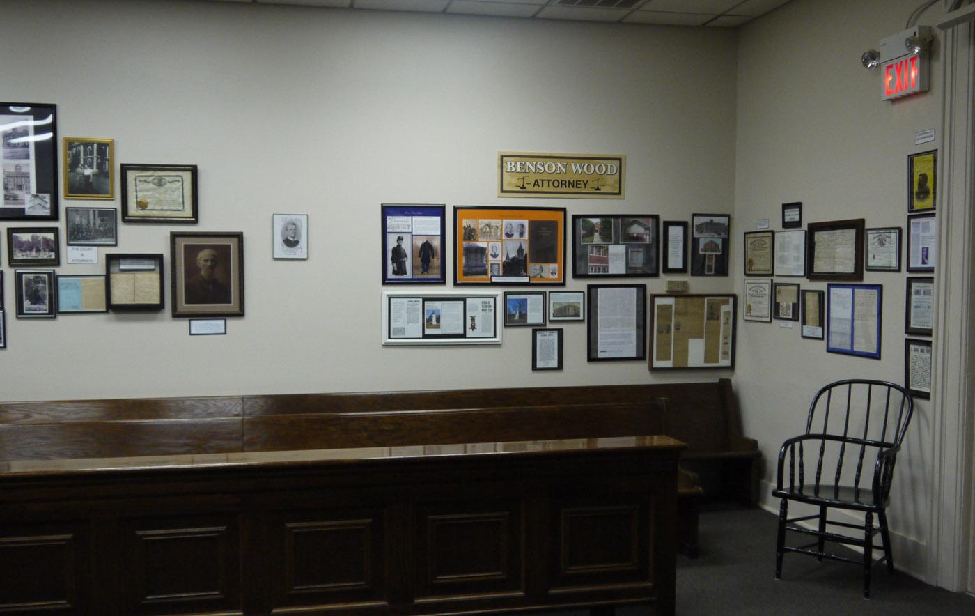 Benson Wood history